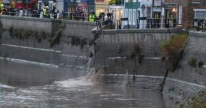 West Quay Wall Break