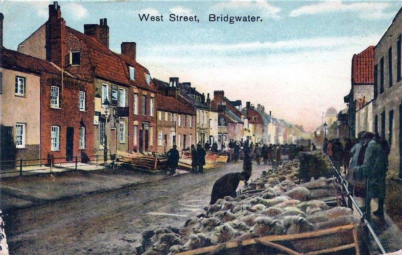 West street in 1913