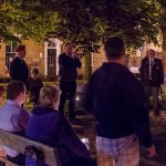 Bridgwater War Memorial 11pm 4th August 2014