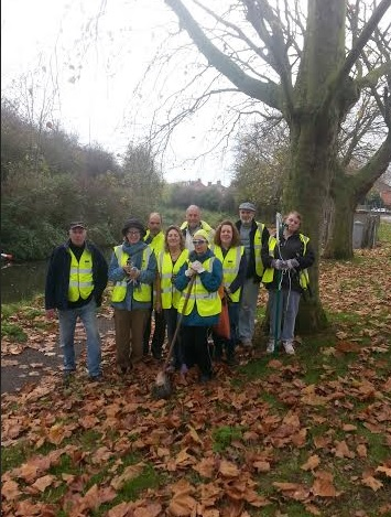 Iwa volunteers active in westover bridgwater westover web for The westover