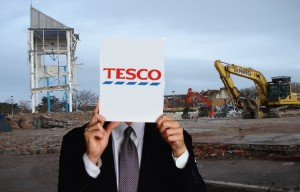 """It is with a heavy heart that we're announcing today that we are unable to proceed with 49 new planned store developments across the country, including our planned store in Bridgwater."" Tesco Stores ltd"