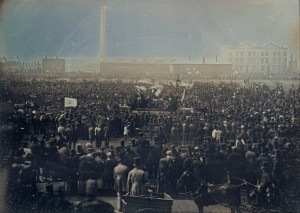 The 1848 Chartist gathering at Kennington showed what could be achieved in the future by unity and solidarity