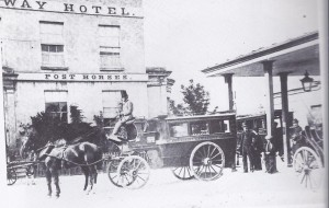 The Railway Hotel was usually the base for visiting Liberal celebrities