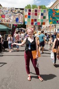 Kate Goodale of the Bridgwater Arts Centre - key organiser behind the Bridgwater Big Bash