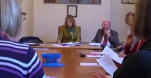 Cllr Moira Brown in the Chair of the Local Transport Forum