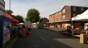 Bridgwater Fair springs up along West Street
