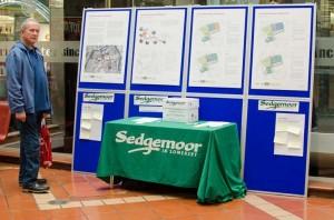 Sedgemoors Northgate consultation in Angel Place
