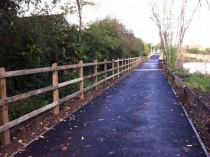 Browne's Pond footpath completed