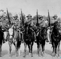 The Bushveldt Carabineers - Morant 2nd left