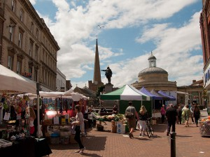 Market in Town Centre