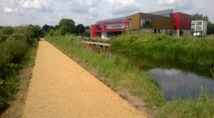 new canal path