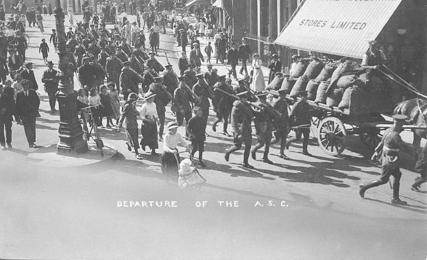 113-Departure-of-Army-Service-Corps-1914-to-war-PC
