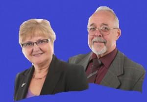 Gill Slocombe and David Baker