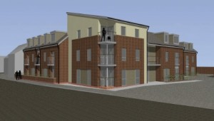 Artist's impression of the proposed 'Hope Inn' development