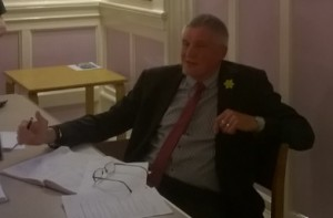 "Alan Hurford (Town Clerk) ""There are bids in that will see Bridgwater benefit from EDF mitigation money"""