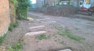 Tombs of the Bridgwater dead unearthed in Friarn street