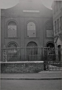 The Sion Chapel photographed in 1937