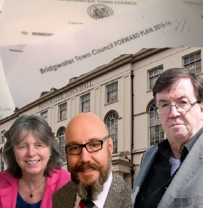 Town Council Leaders set out bold new plan for Bridgwater