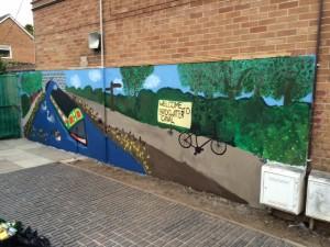 Tex Freeman's Canalside Mural