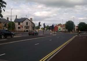 After months of chaos works are finally complete on the tauton road Broadway junction