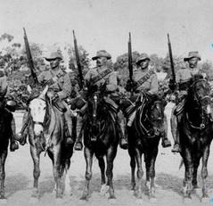 The Bushveldt Carabineers - Morant 2nd left