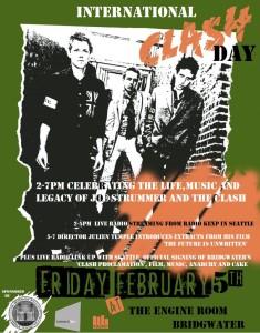 International Clash Day Feb 5th