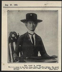 Daisy May O'Dwyer -wife of the Breaker.