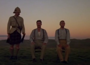 Final scene from the film 'Breaker Morant' with Edward Woodward
