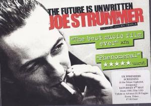 Julien Temple's film premiered in Bridgwater