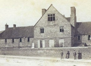 The 'old' Parish workhouse on St Mary street
