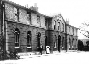 The 'new' Bridgwater Workhouse on Northgate