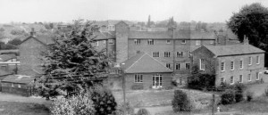 The Bridgwater Workhouse as it would have appeared in 1864