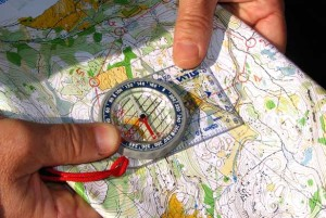Orienteering comes to town