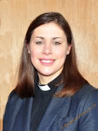 Today's Mayor's Chaplain is the very modern Rev.Hannah Alderson of Holy Trinity Church