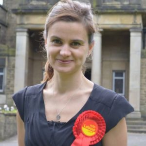 Labour MP Jo Cox murdered by a Fascist June 16 2016