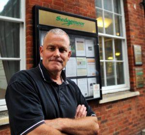 Bridgwater postman Dave Chapple